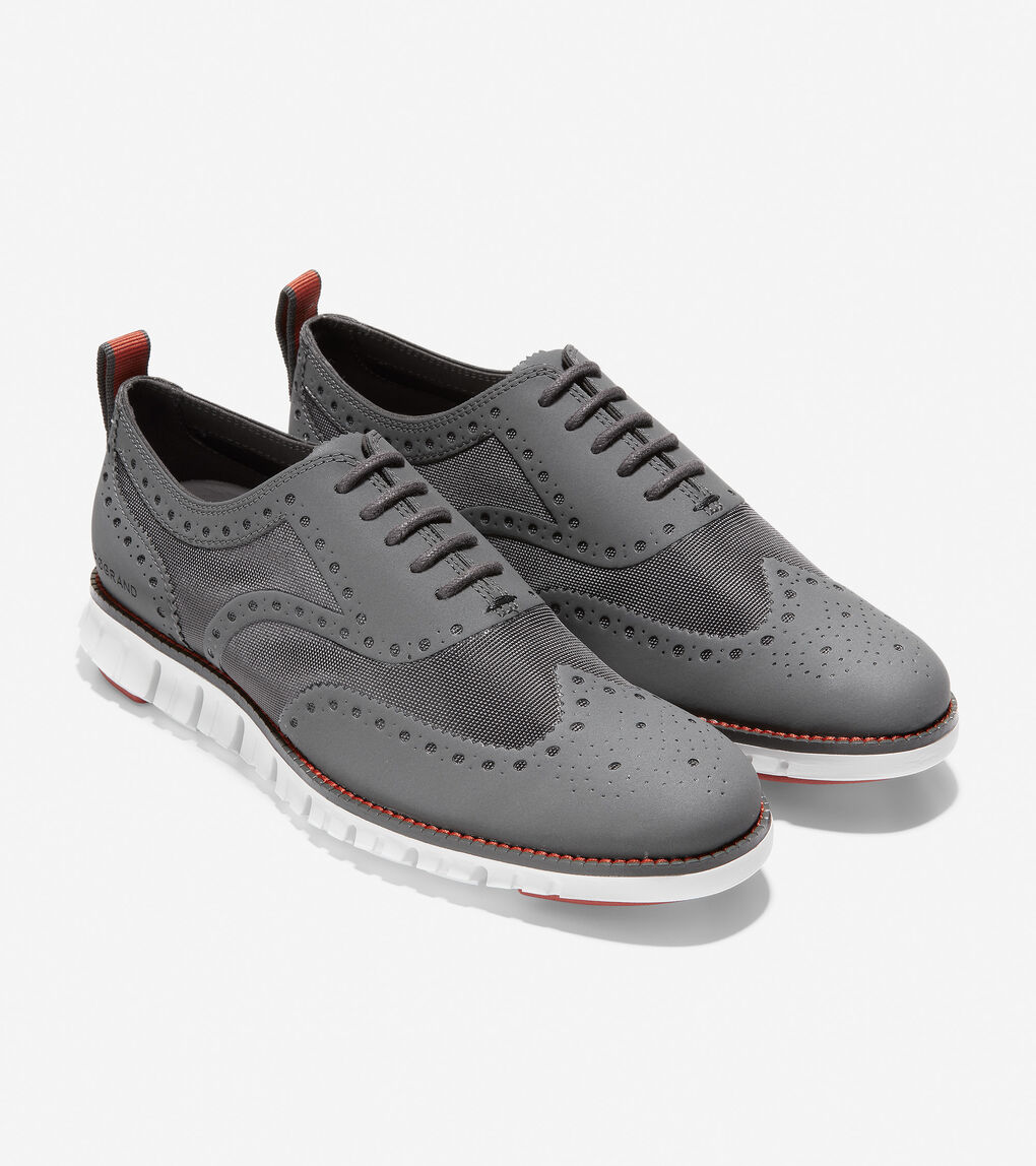 Mens ZERØGRAND No Stitch Oxford