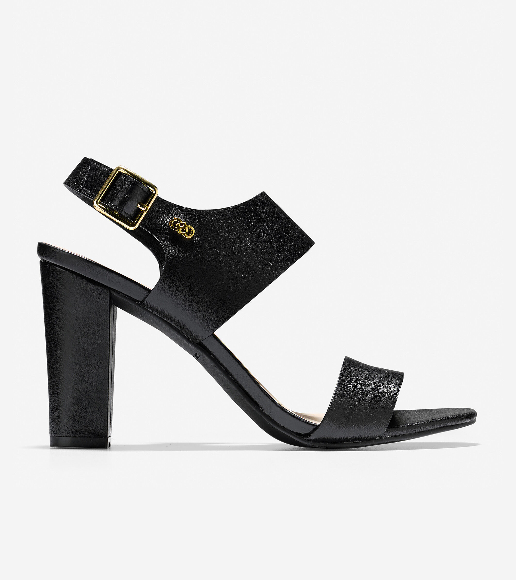 0900c529ecff Women s Octavia Sandal (85mm) in Black Leather