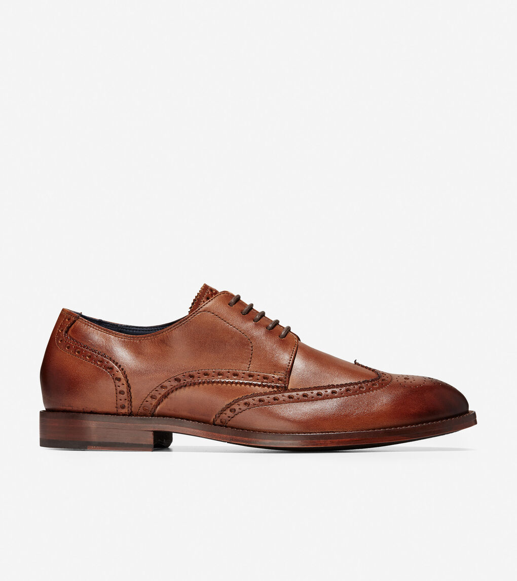 Mens Harrison Wingtip Oxford