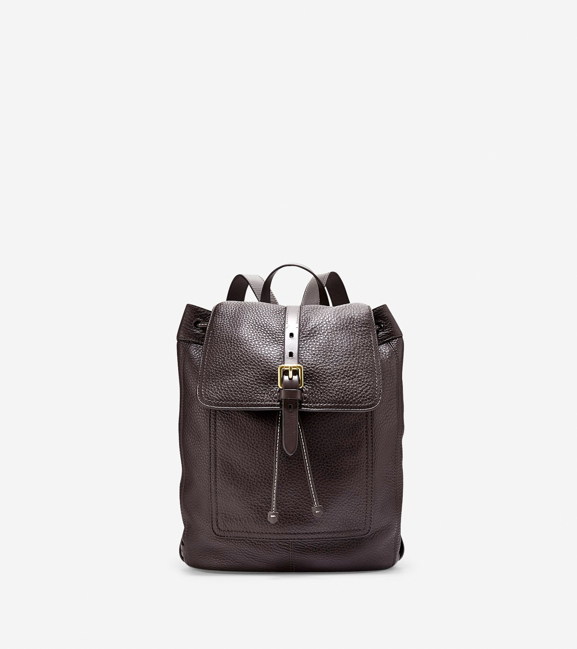cf720c733f Cole Haan Leather Flap Backpack- Fenix Toulouse Handball
