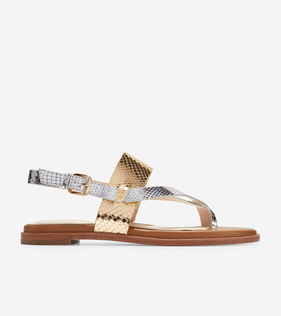cf16a693c449 Women s Anica Thong Sandals in Gold