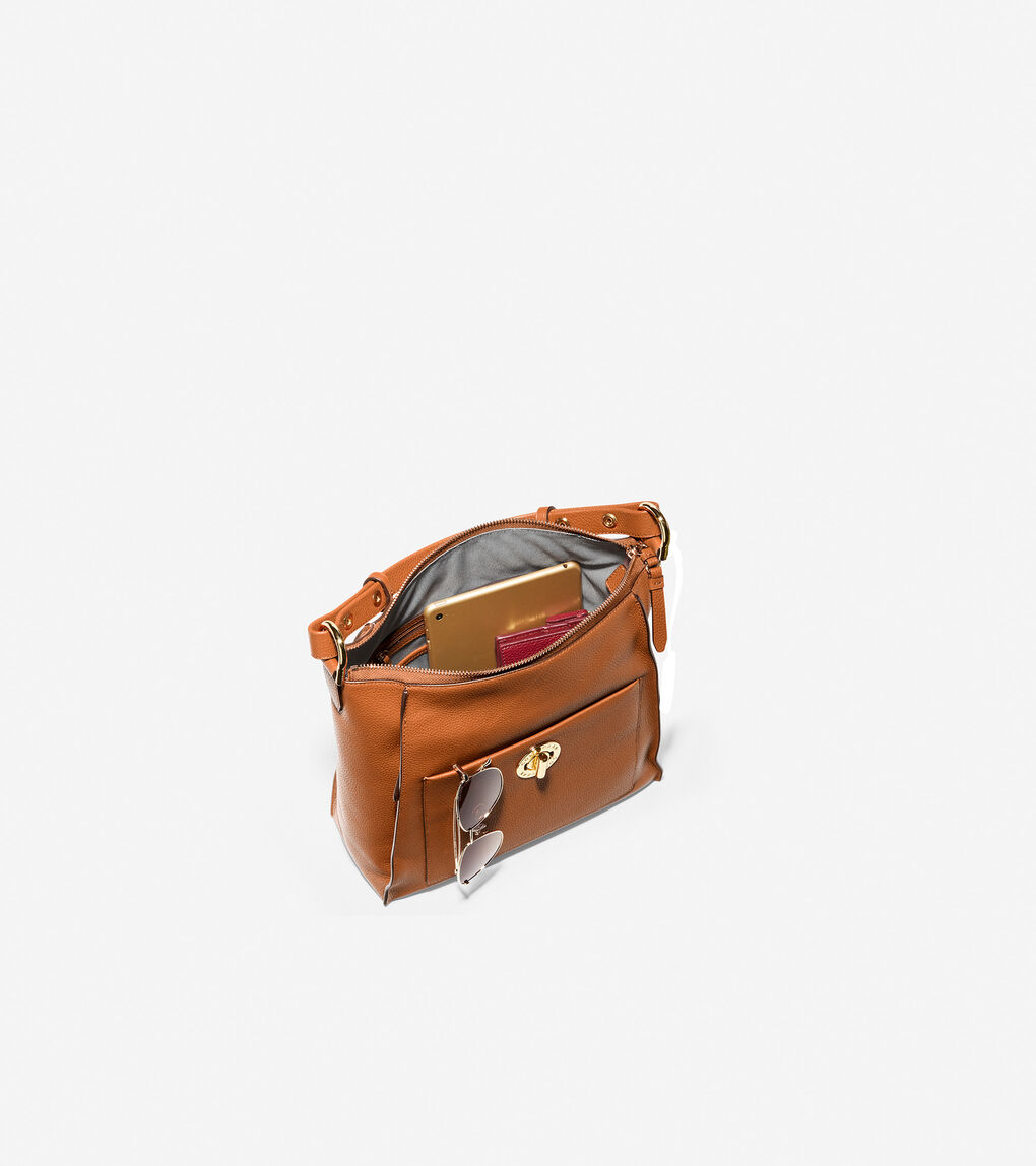 WOMENS Small Turnlock Shoulder Bag