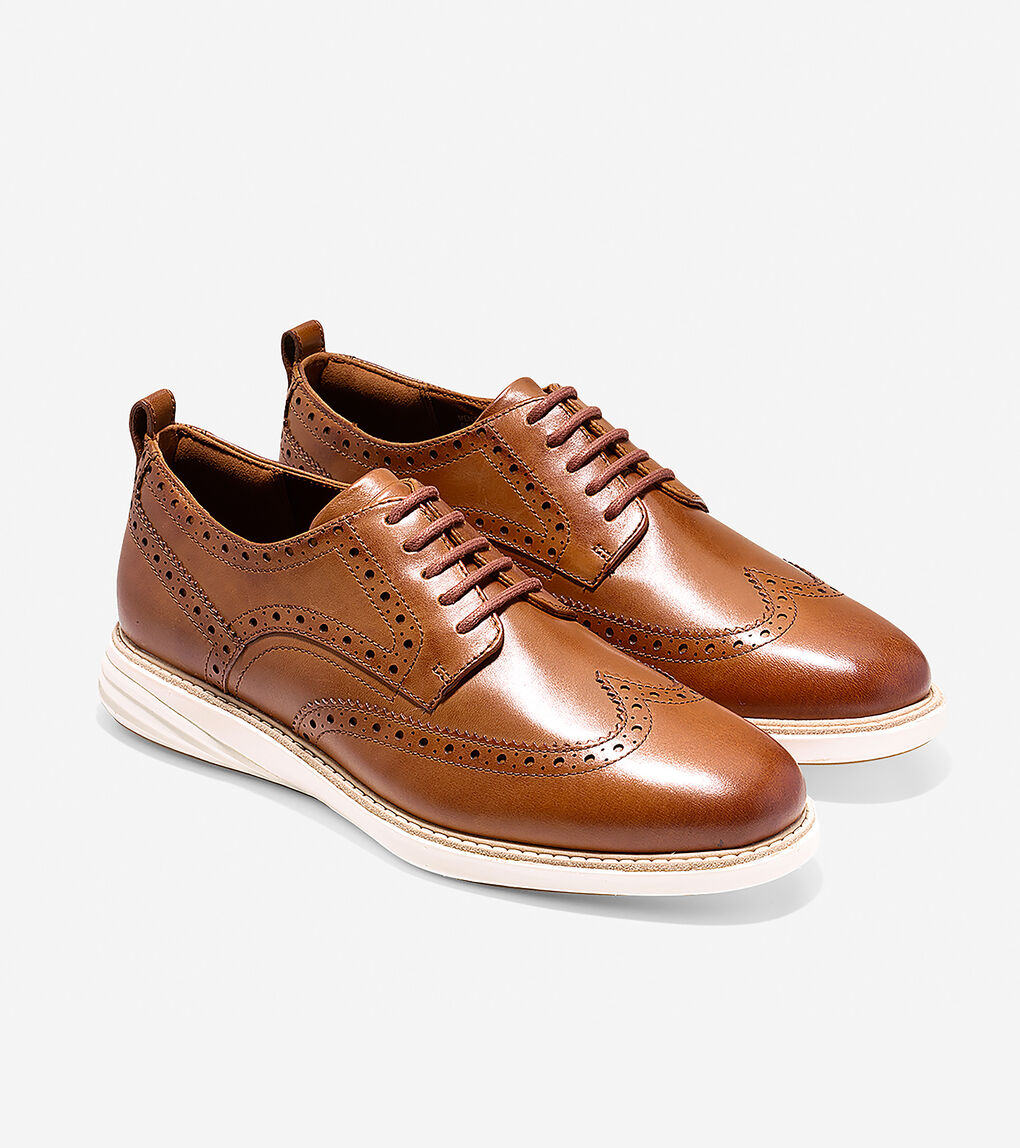 Mens Grand Evolution Wingtip Oxford