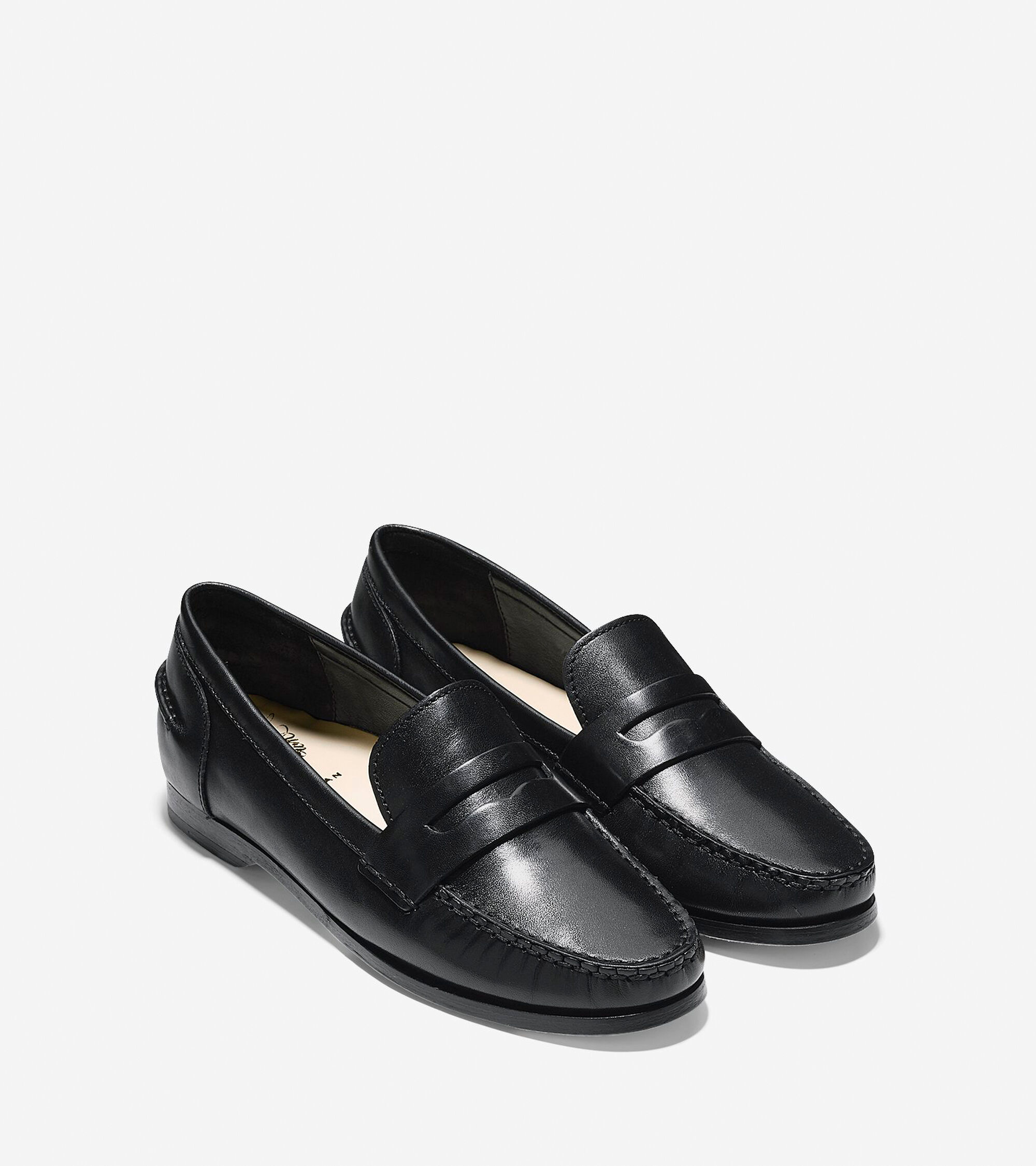 Women's Pinch Grand Penny Loafers in Black | Cole Haan