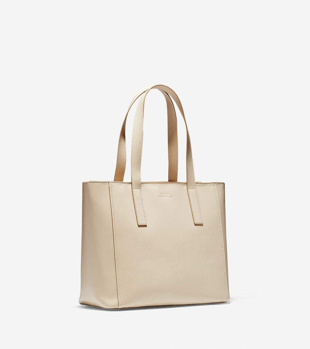 Womens Grand.ØS Leather Small Tote