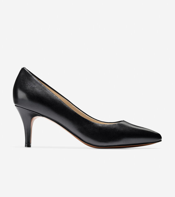 fa871c2e13ee Cole Haan Harlow Pump (65mm) in Black   ColeHaan.com