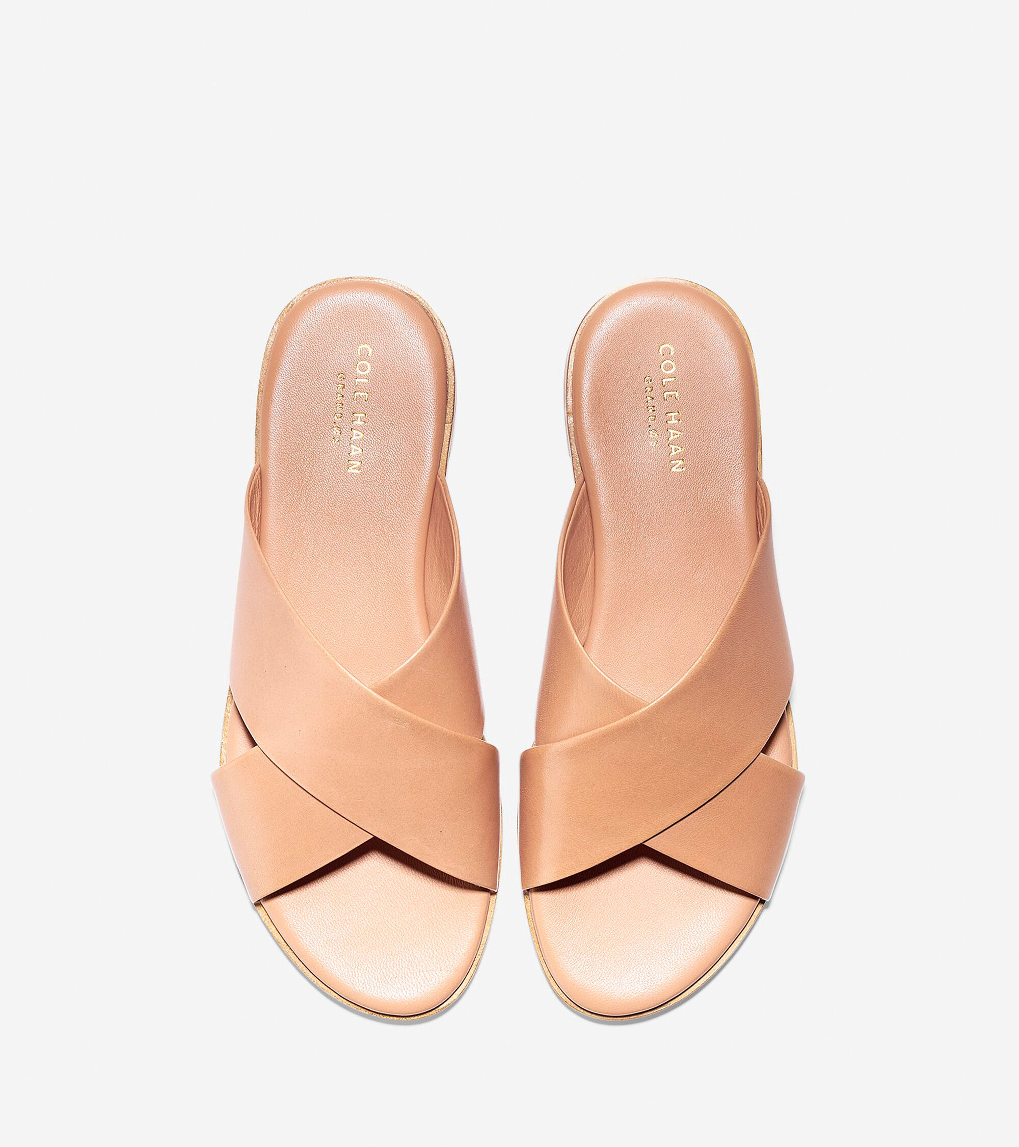 378e68bc26e Anica Criss Cross Sandals in Sahara Leather