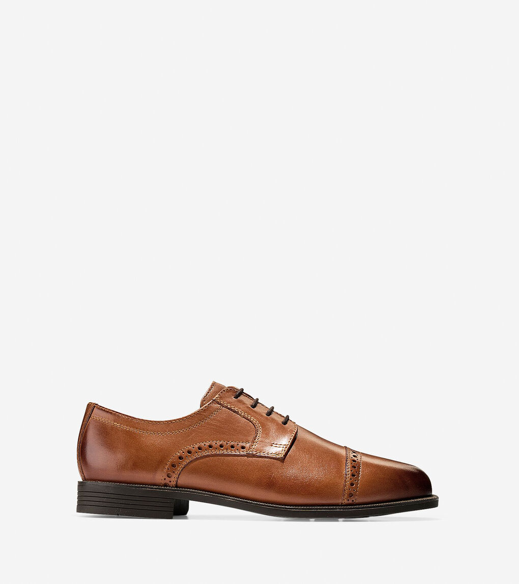 Mens Dustin Cap Toe Brogue Oxford