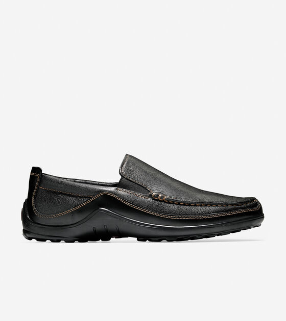 b5d9250d38b Tucker Venetian Loafers in Black   Mens Shoes
