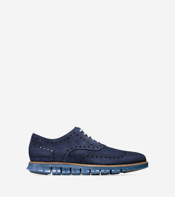 Men's ZERØGRAND Wingtip Oxford