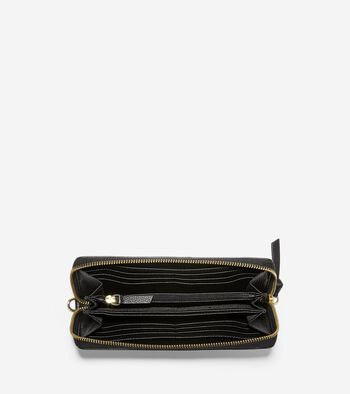 Piper Zip Continental Wallet