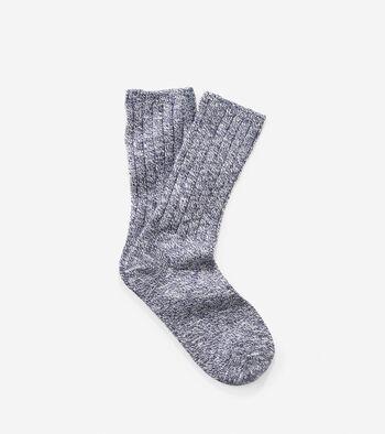 Turn Cuff Crew Socks