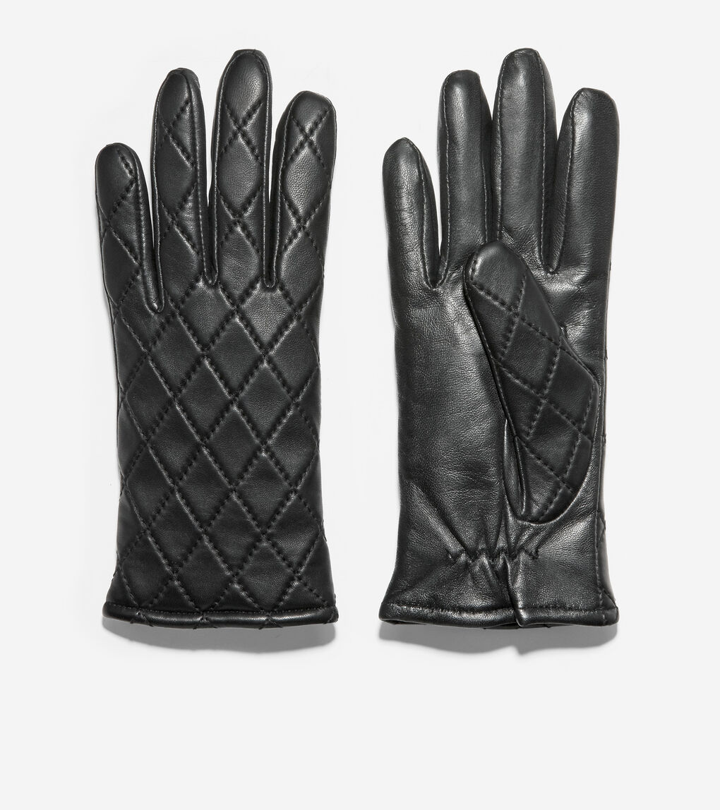 WOMENS GRANDSERIES Quilted Leather Glove