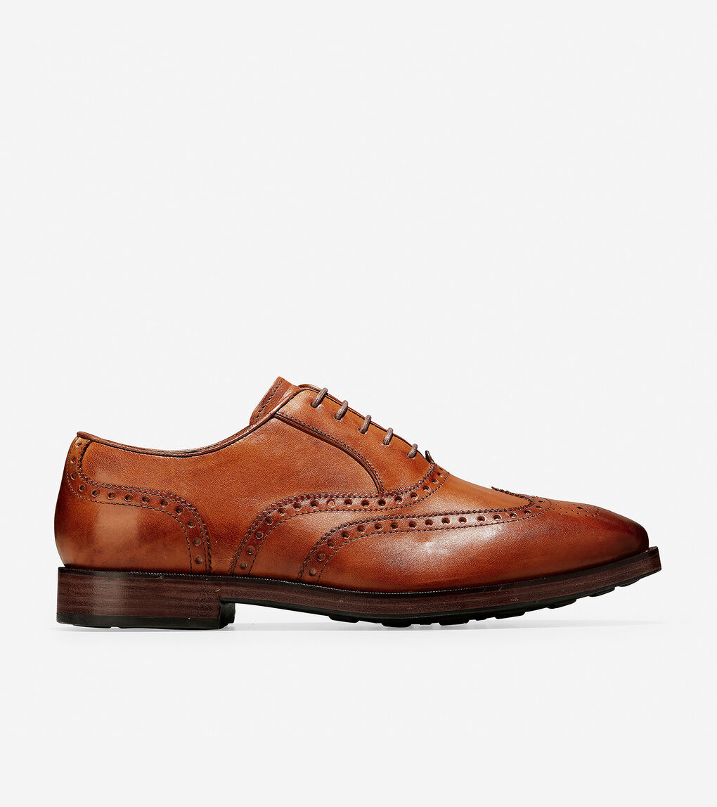 Mens Hamilton Grand Wingtip Oxford