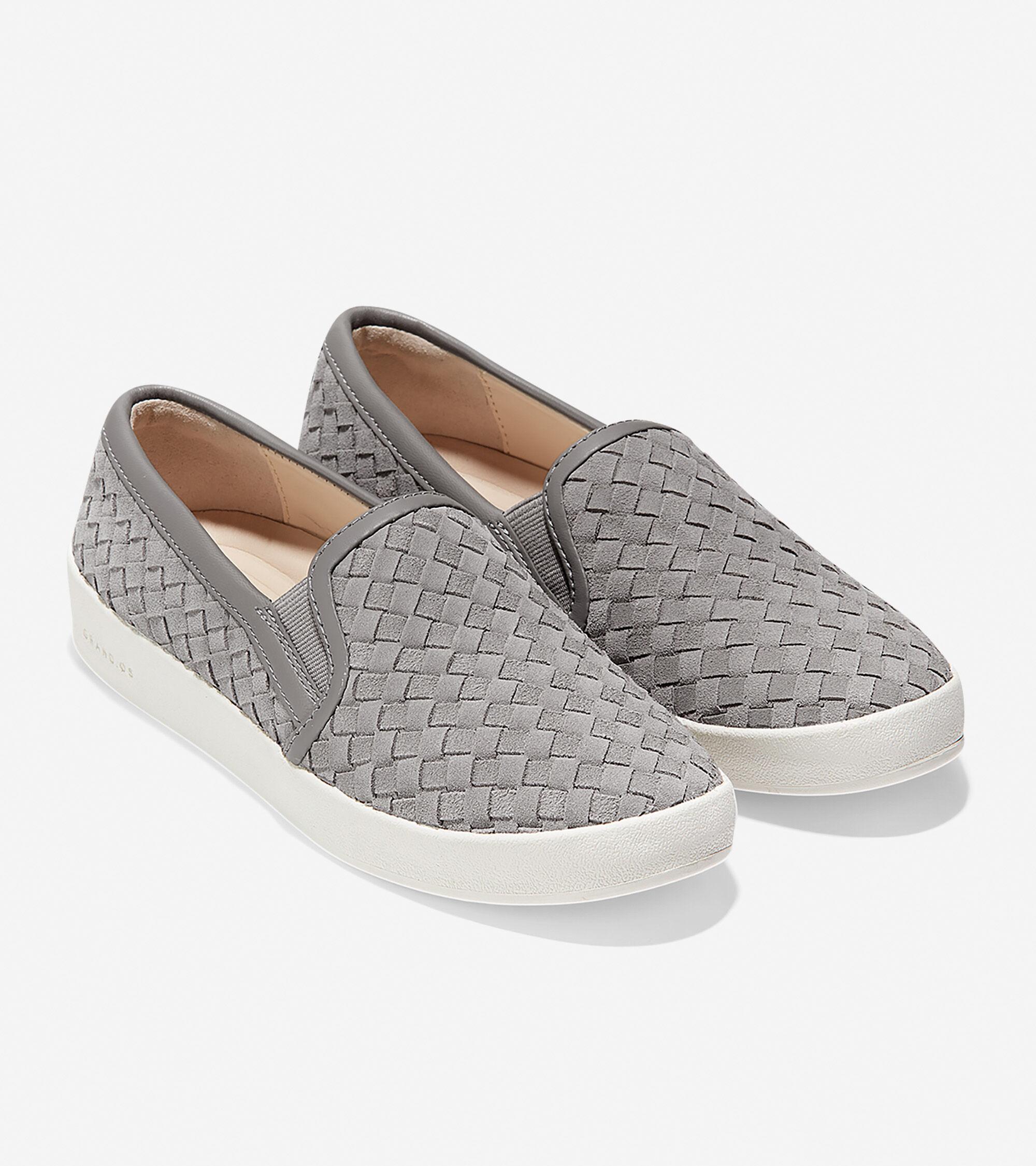 cole haan slip on sneakers
