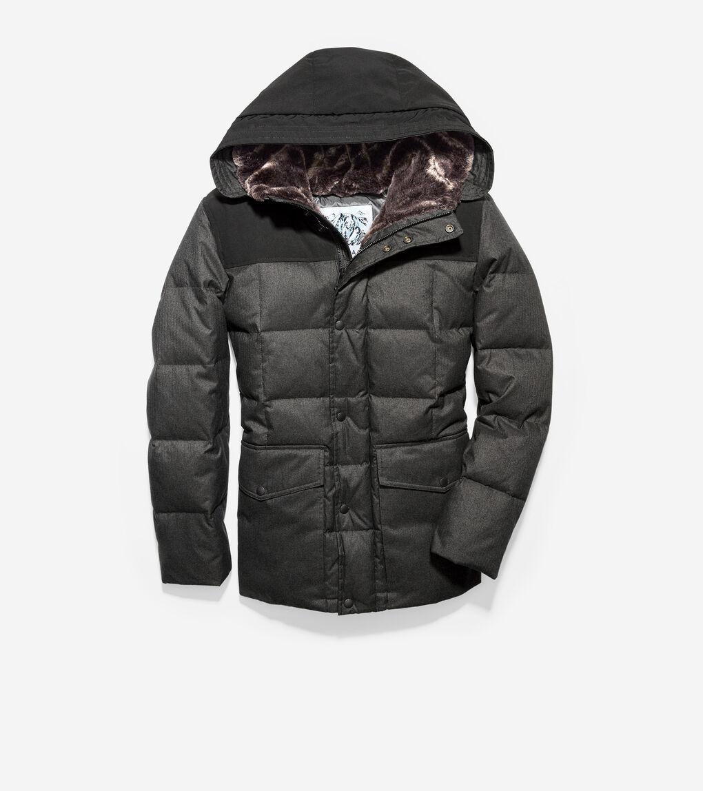 MENS Flannel Down Jacket