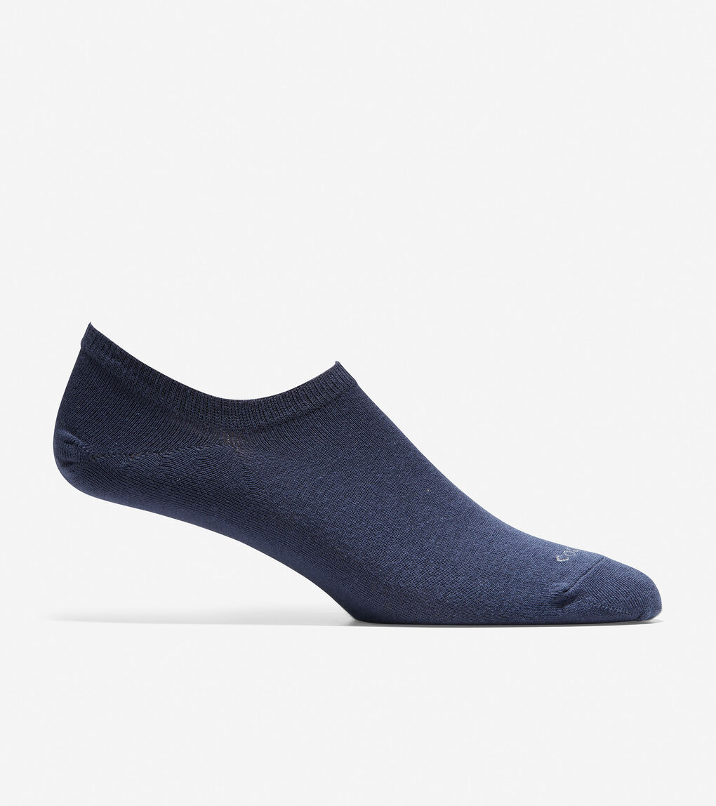 MENS 2-Pair Stripe No-Show Sock Liner