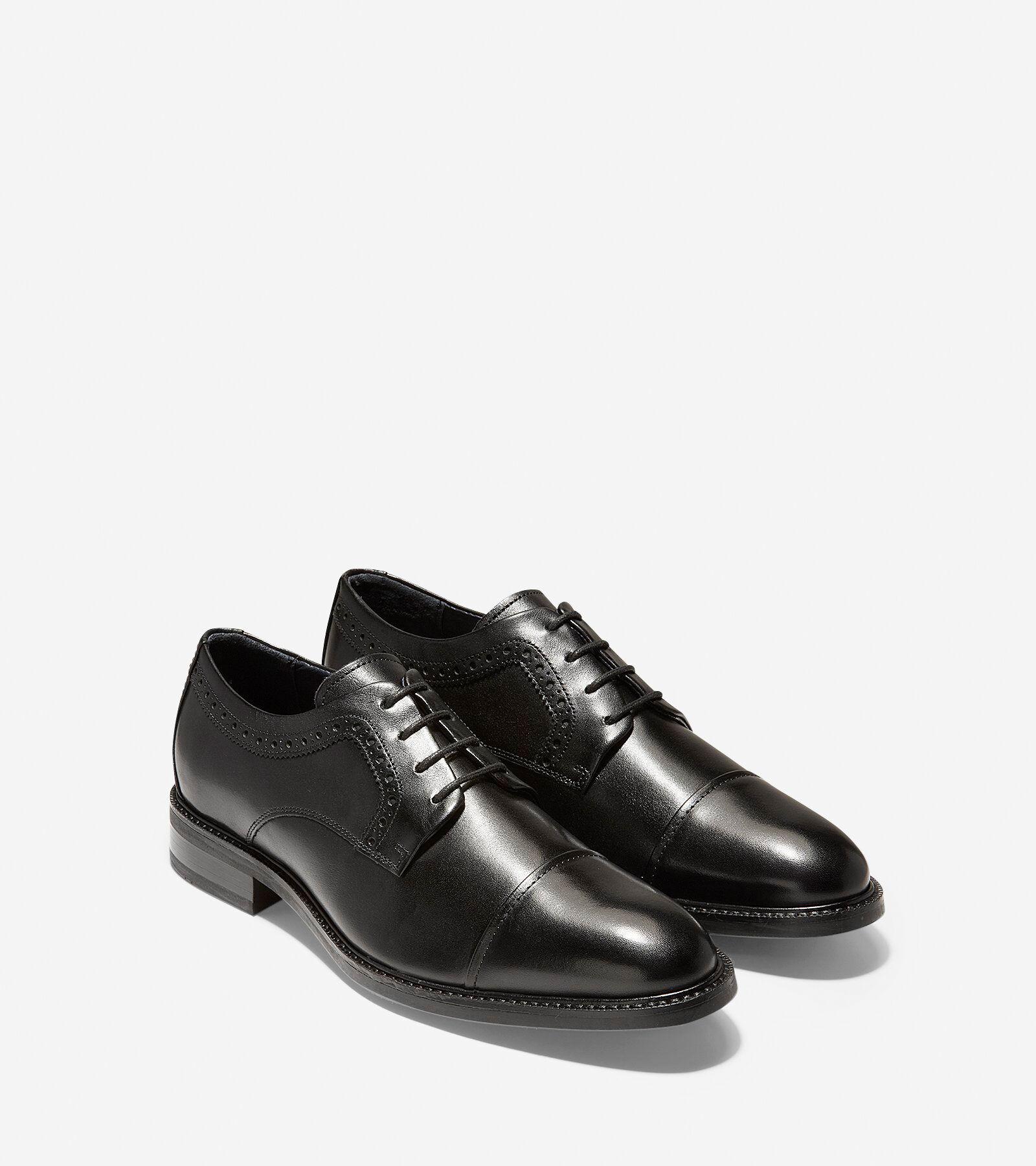 Men's Buckland Cap Oxford in Black
