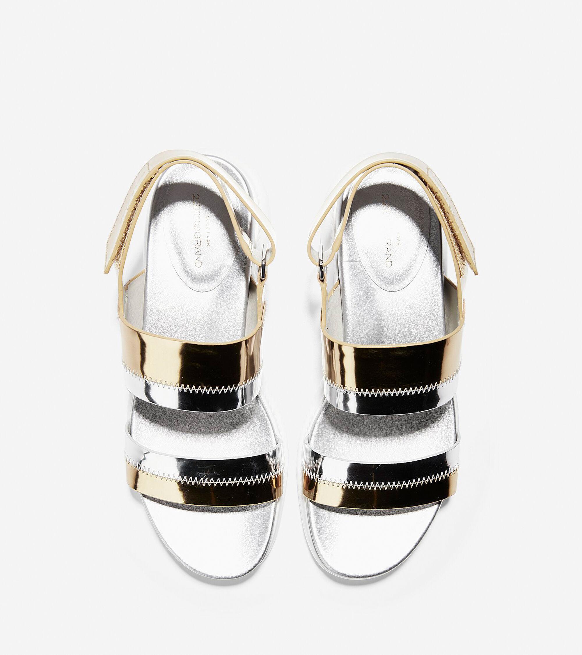06ff595a2ef Women s 2.ZEROGRAND Slide Sandals in Gold Metallic