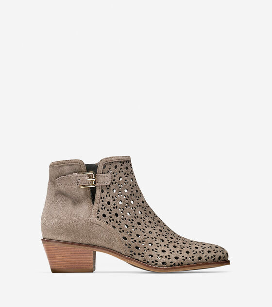Shoes > Willette Perforated Bootie (45mm)