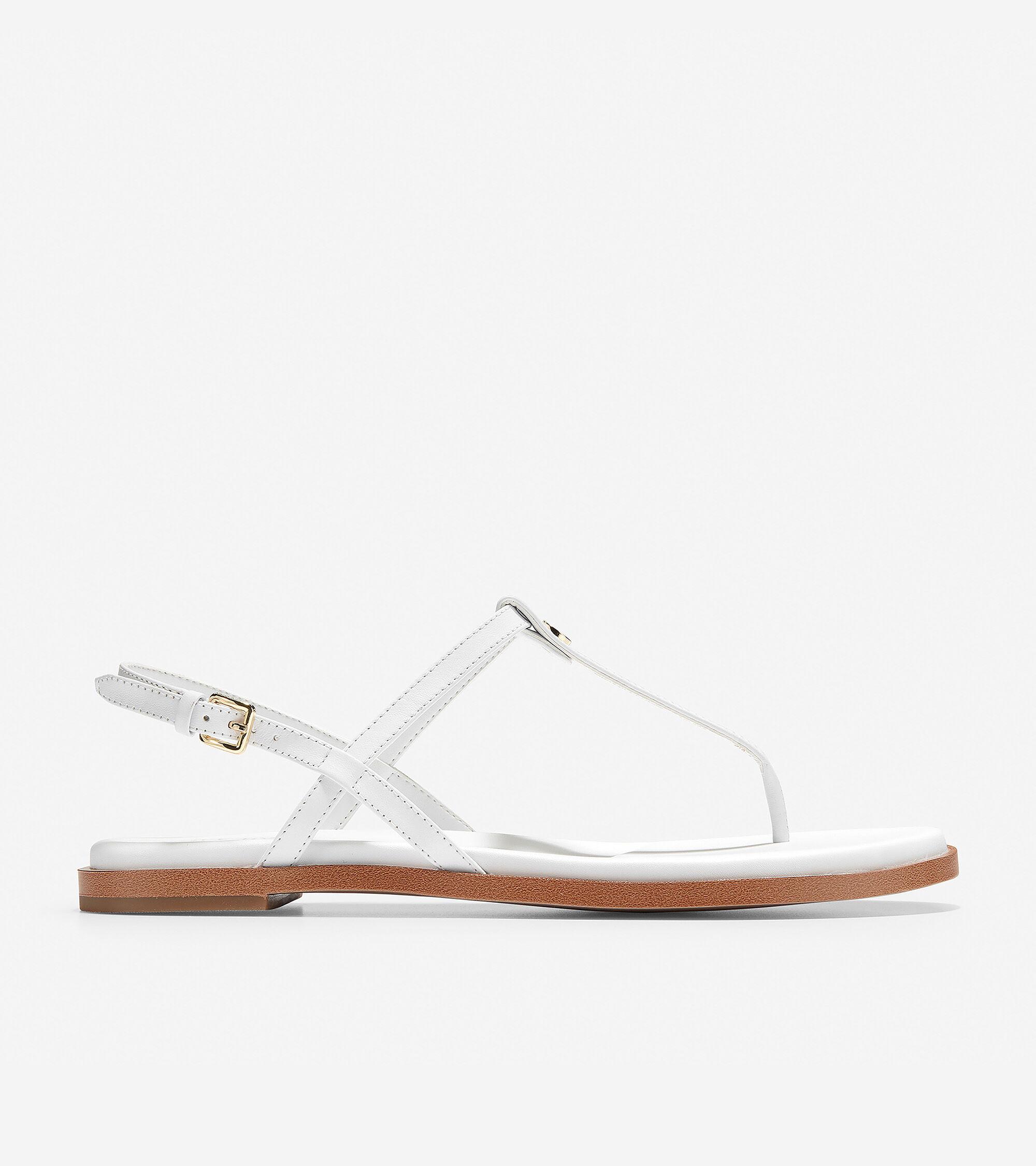 Women's Flora Thong Sandal in Optic