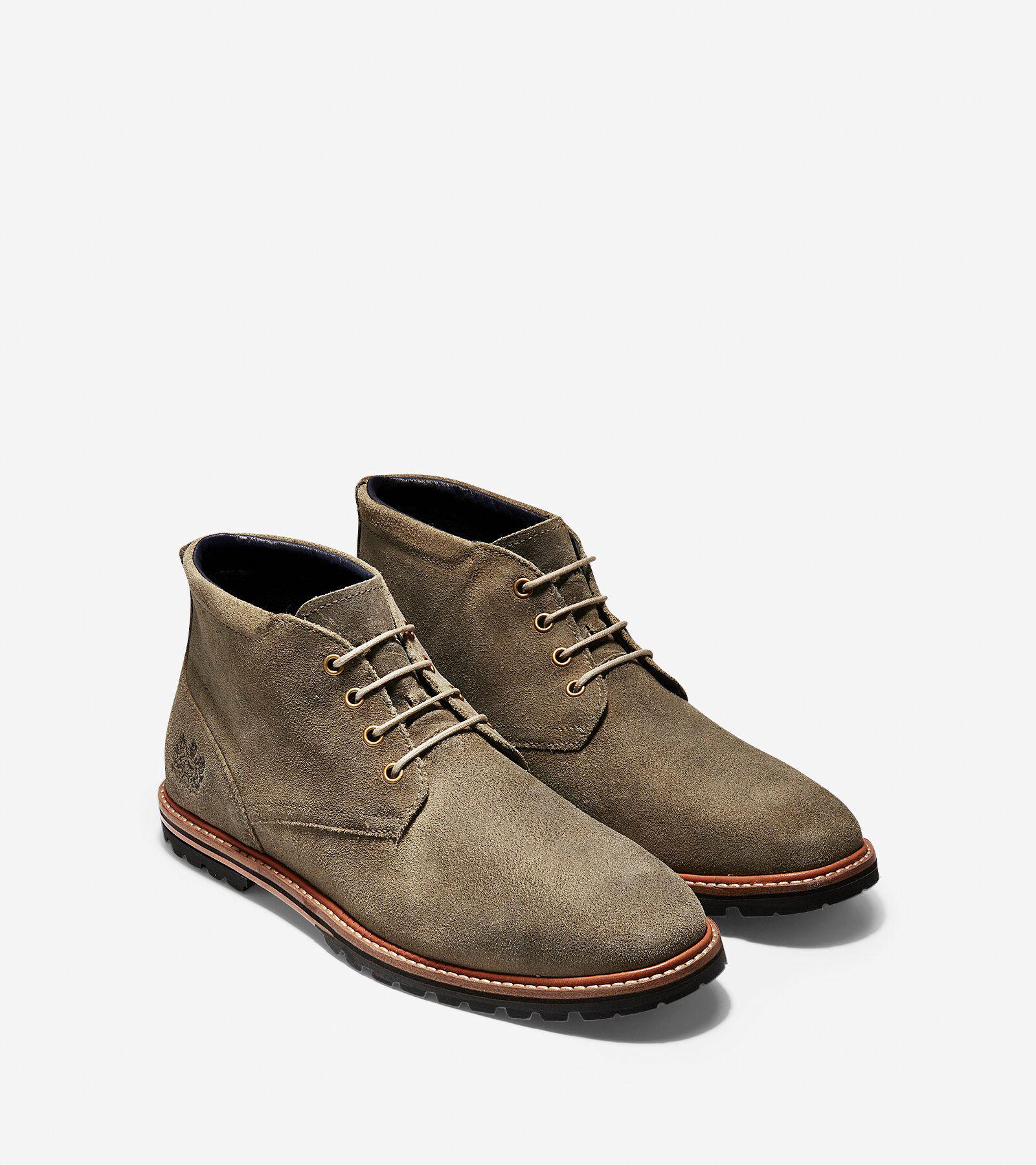 Raymond Grand Chukka Boot in Soft Sage