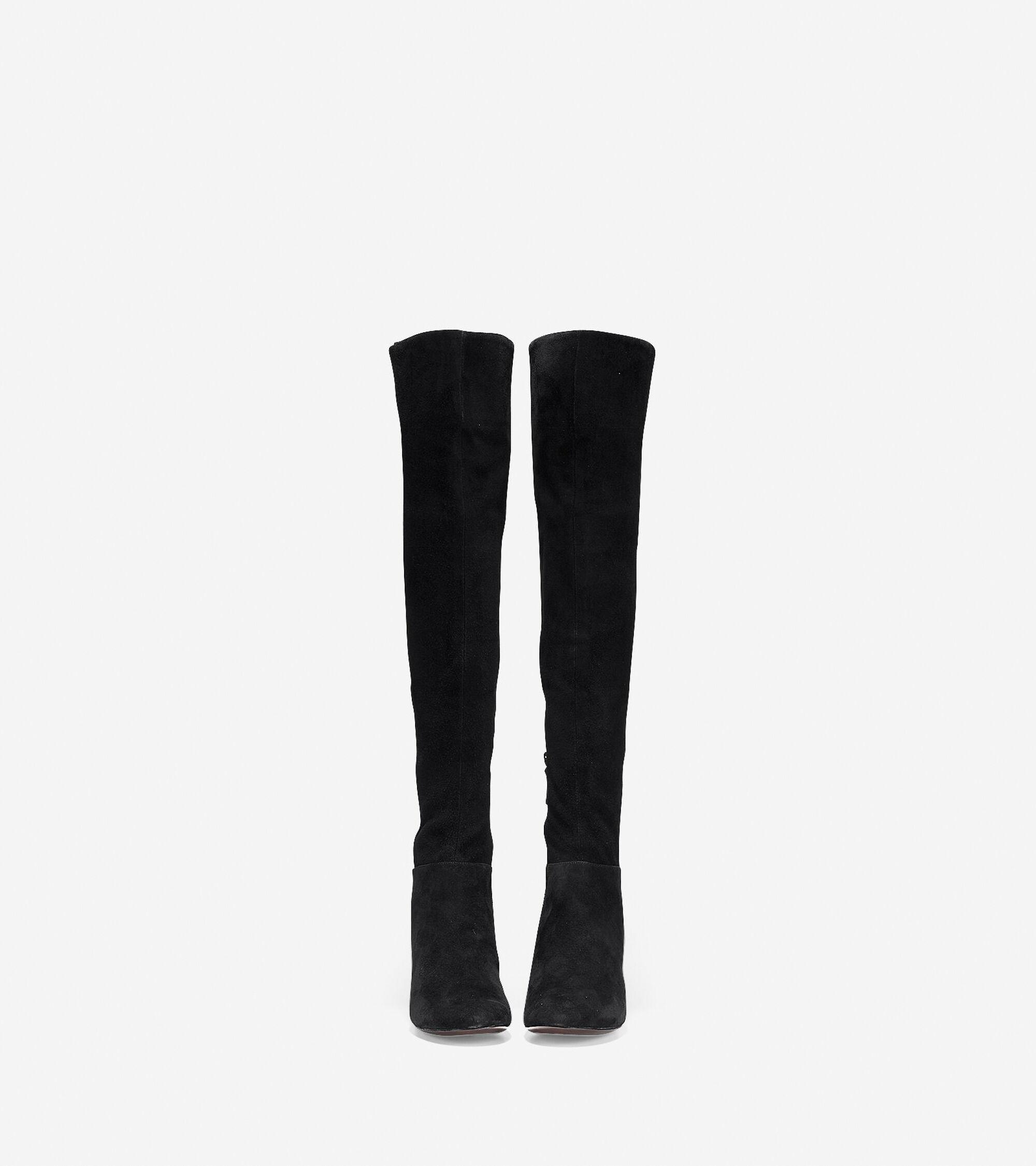 3e532fadfbc Women s Elnora Over The Knee Boots 60mm in Black
