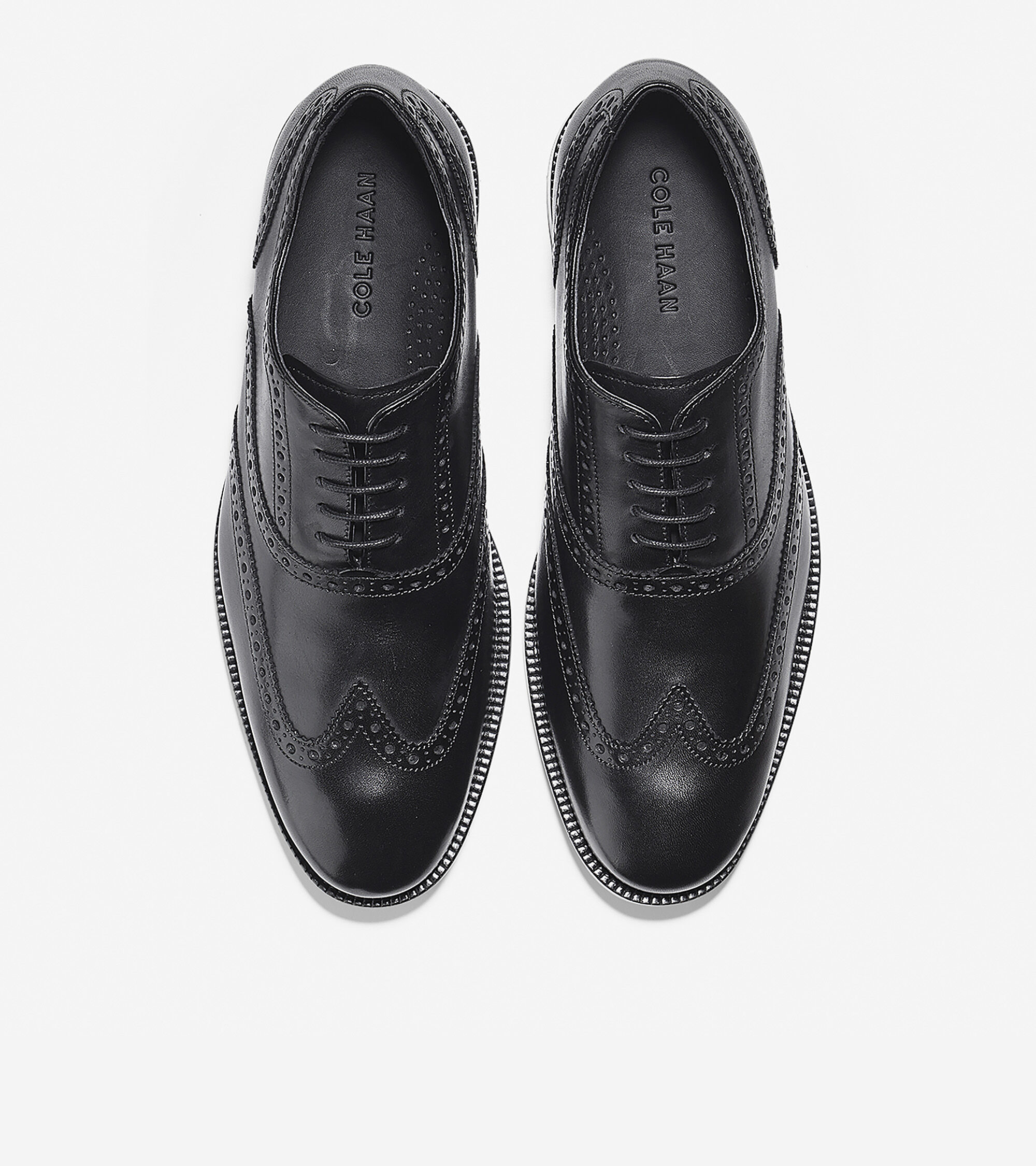 Men's Williams Wingtip Oxford in Black