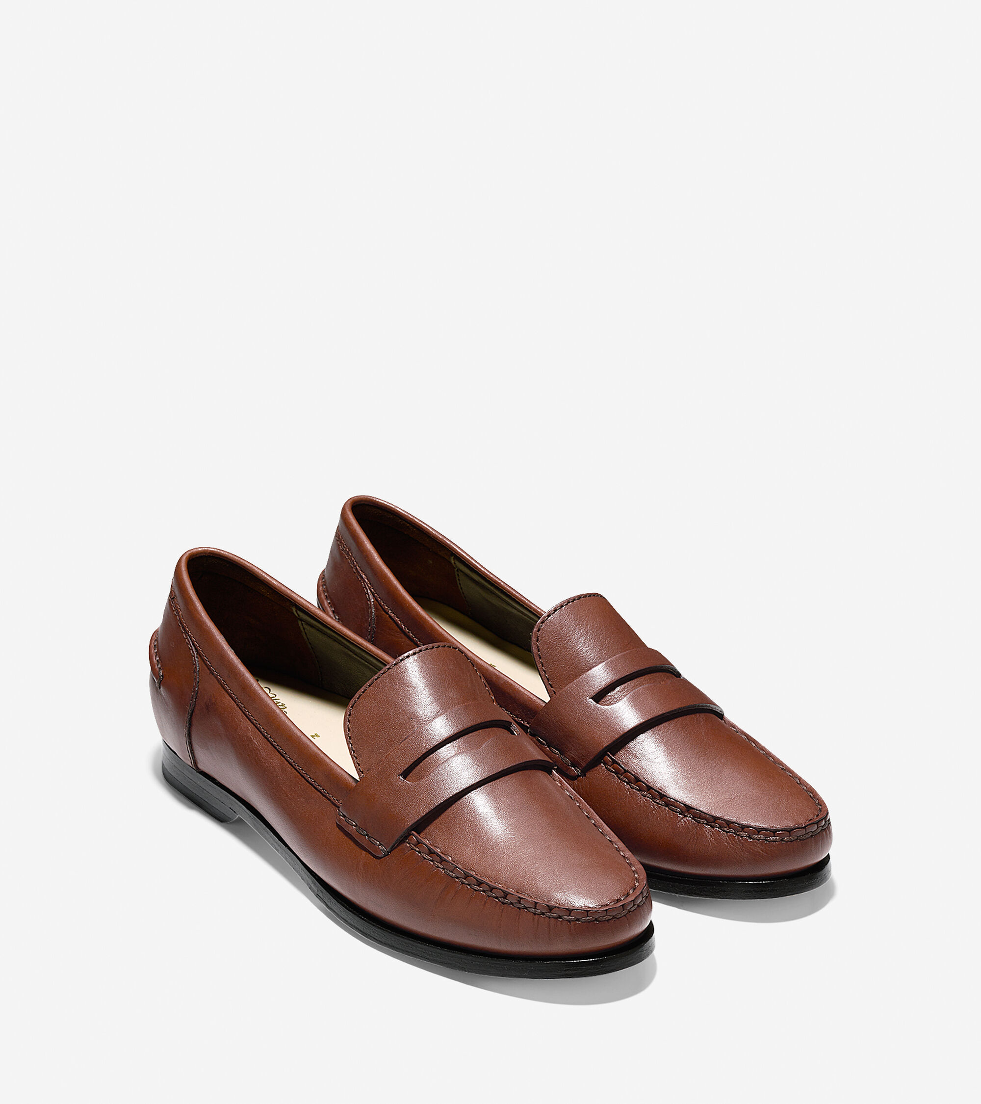 Women's Pinch Grand Penny Loafers in Sequoia   Cole Haan