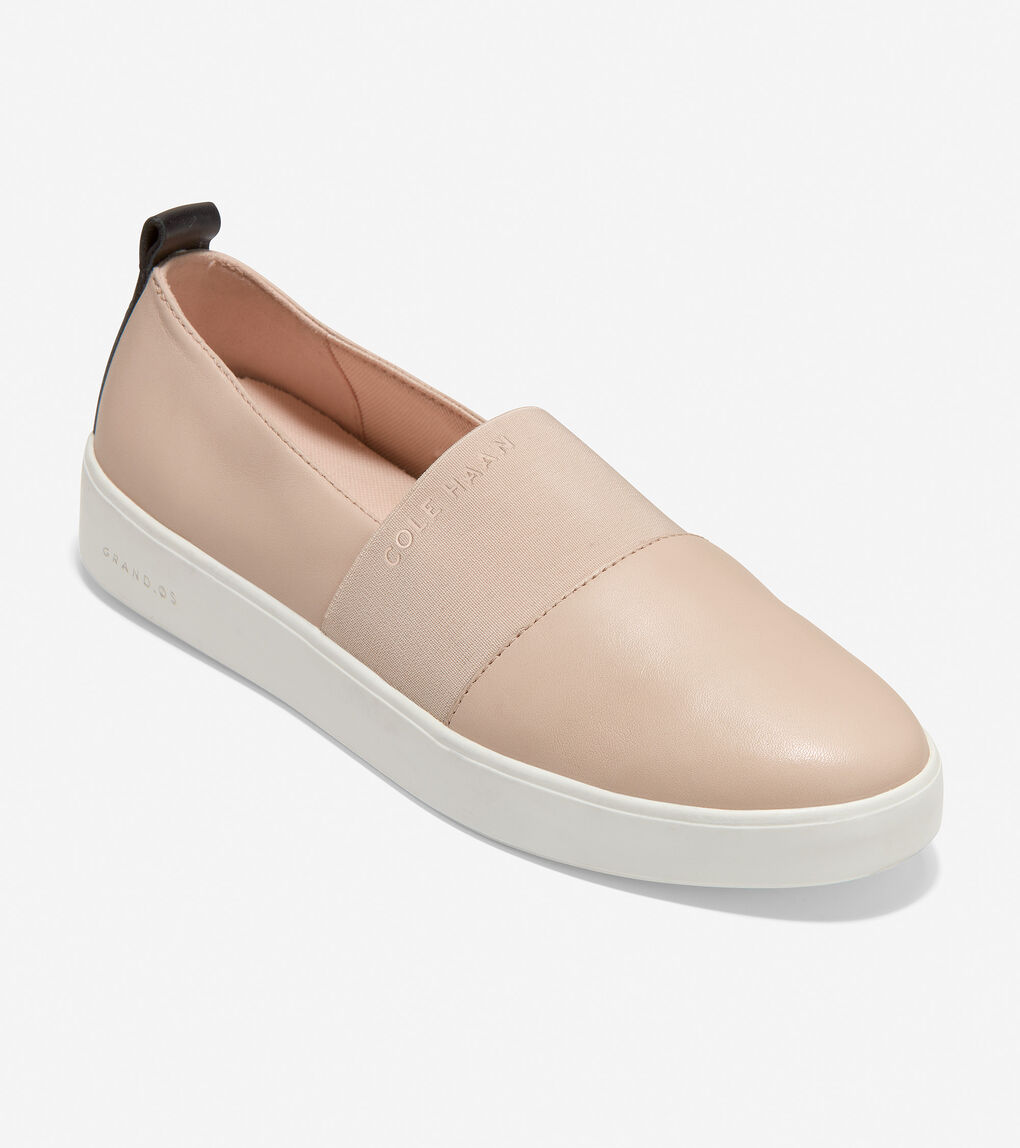WOMENS Grand Crosscourt Street Slip-On Sneaker
