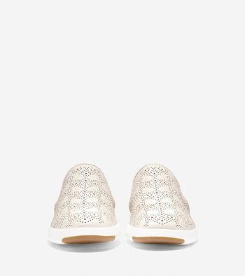 Women's GrandPrø Paisley Perforated Slip On Sneaker