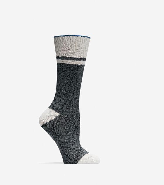 Accessories & Outerwear > Melange Hiking Boot Socks