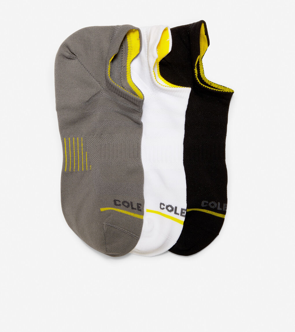 Mens ZERØGRAND 3-Pair Liner Socks