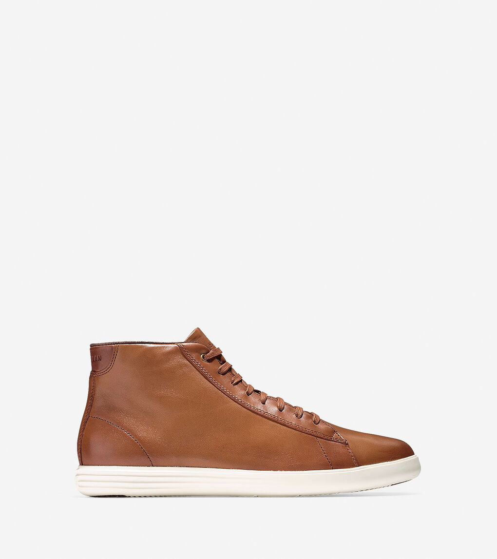 Mens Grand Crosscourt High Top Sneaker