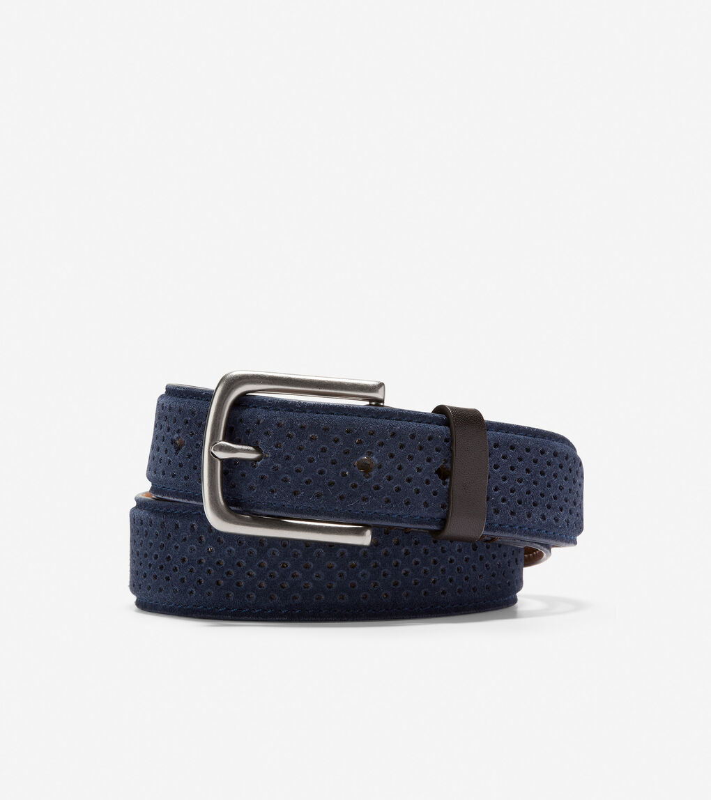 Mens Feathercraft 32mm Perforated Belt