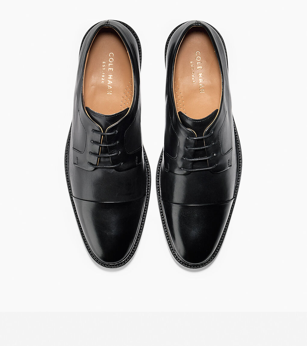 Mens Warren Cap Toe Oxford