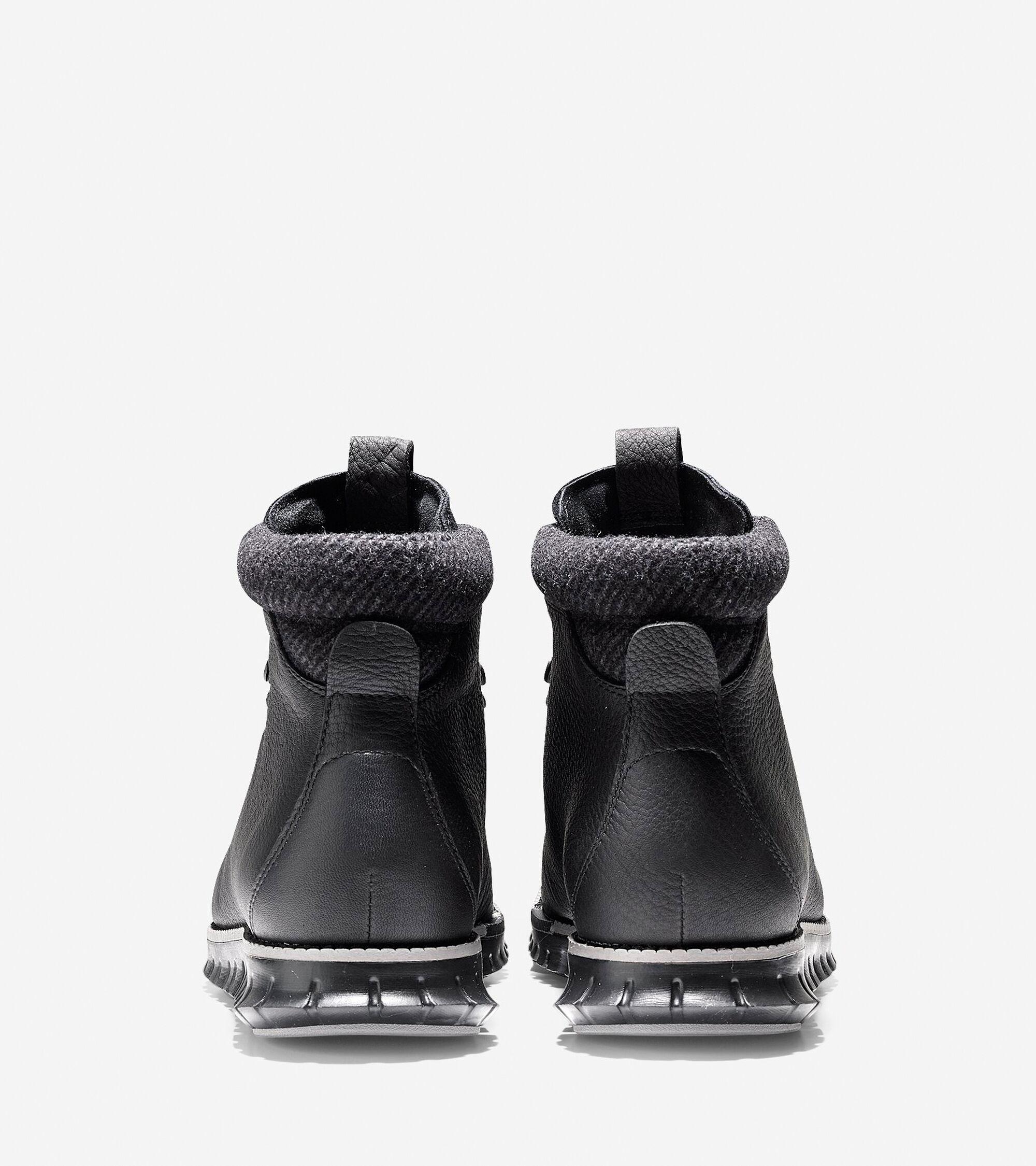 8e8e9c7e74c1 Men s ZEROGRAND Water Resistant Hiker Boots in Black-Ironstone ...