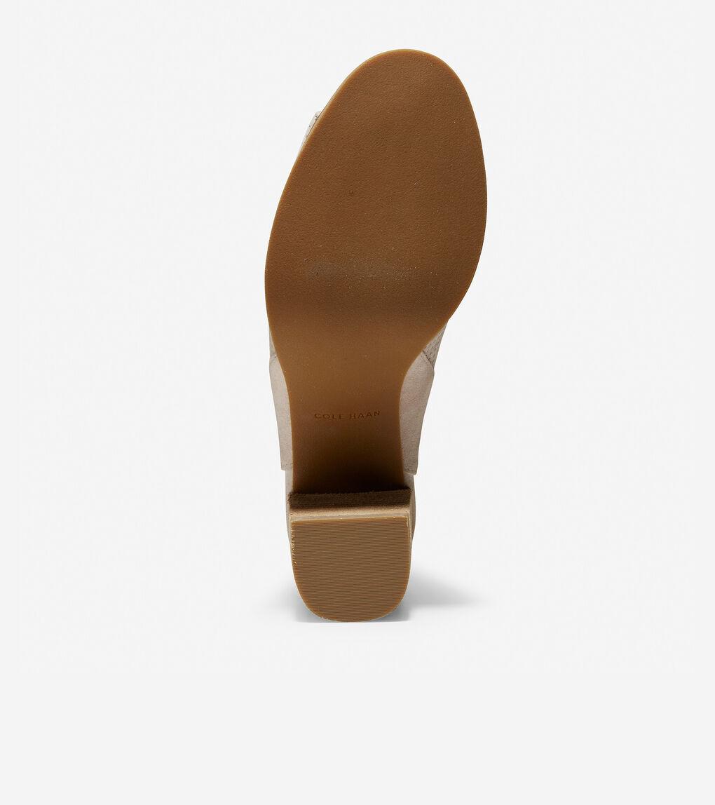 Womens Callista Open Toe Sling Bootie (75mm)