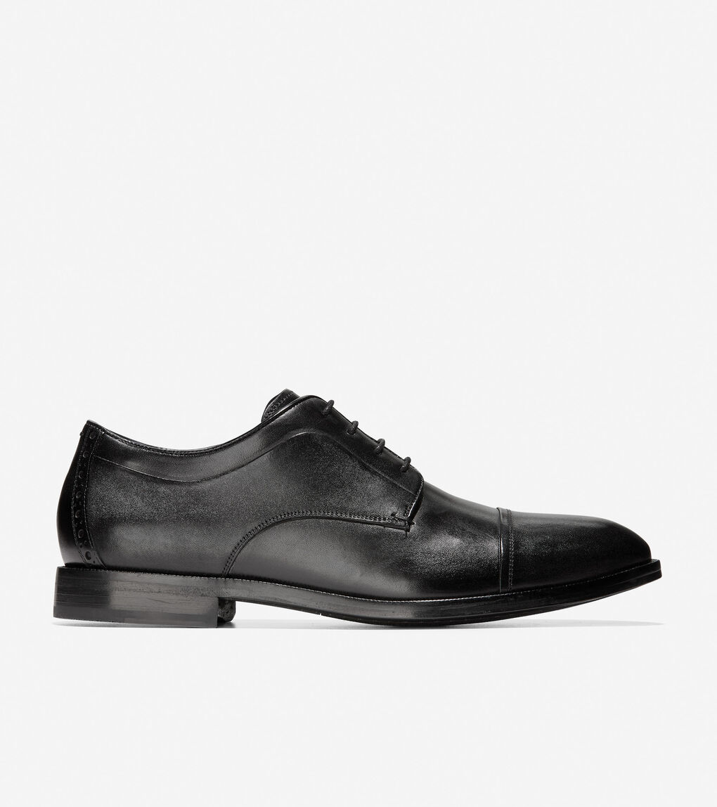Mens Harrison Cap Toe Oxford