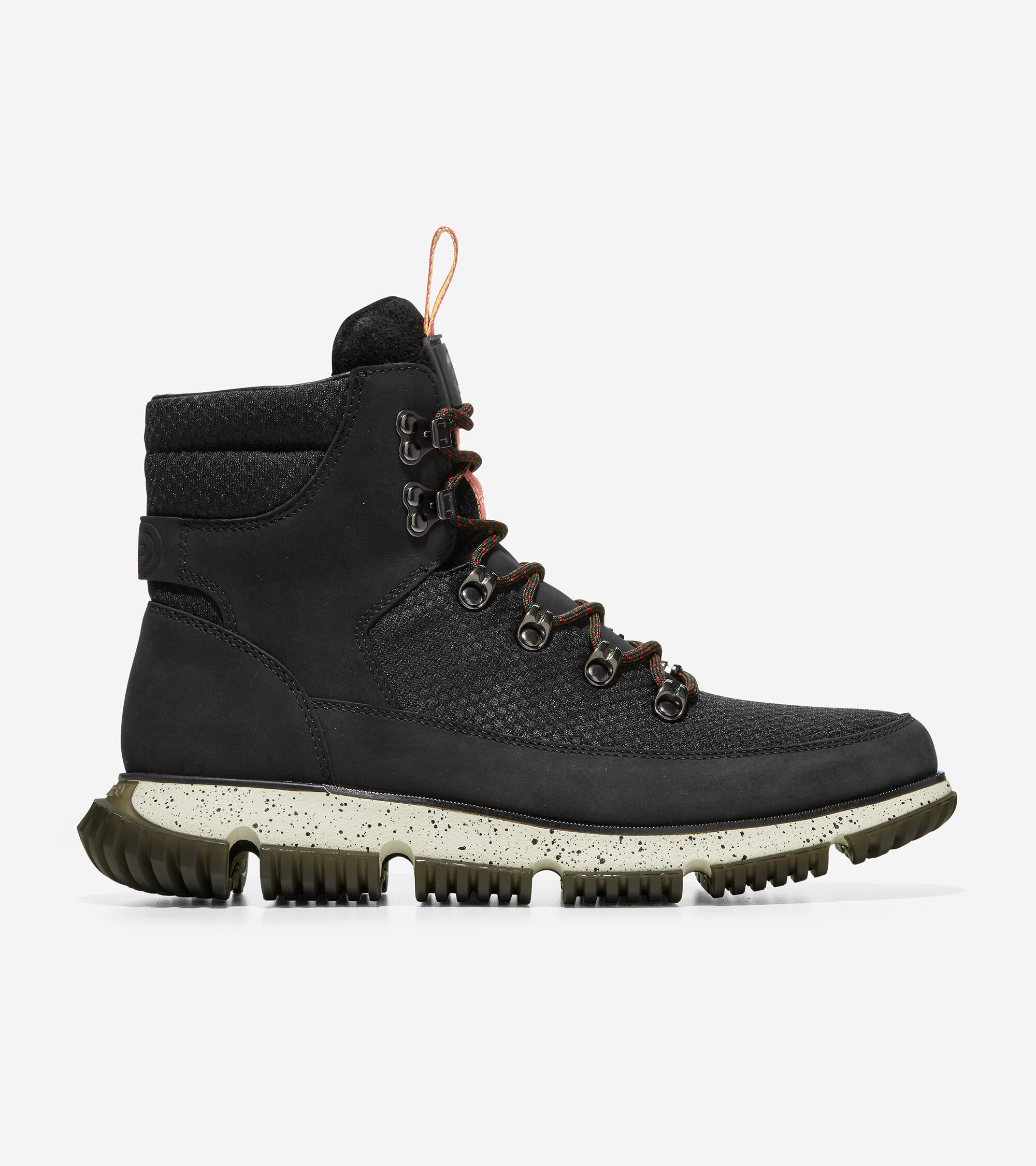 Weather-Ready: We wrapped waterproof leather and suede around an insulated lining to keep you dry and warm in wintry conditions. Responsive Cushioning: Our triple-density foam system gives this boot an athletic-shoe feel. Steady Traction: A redesigned full-length tread pattern provides durable grip in all conditions.