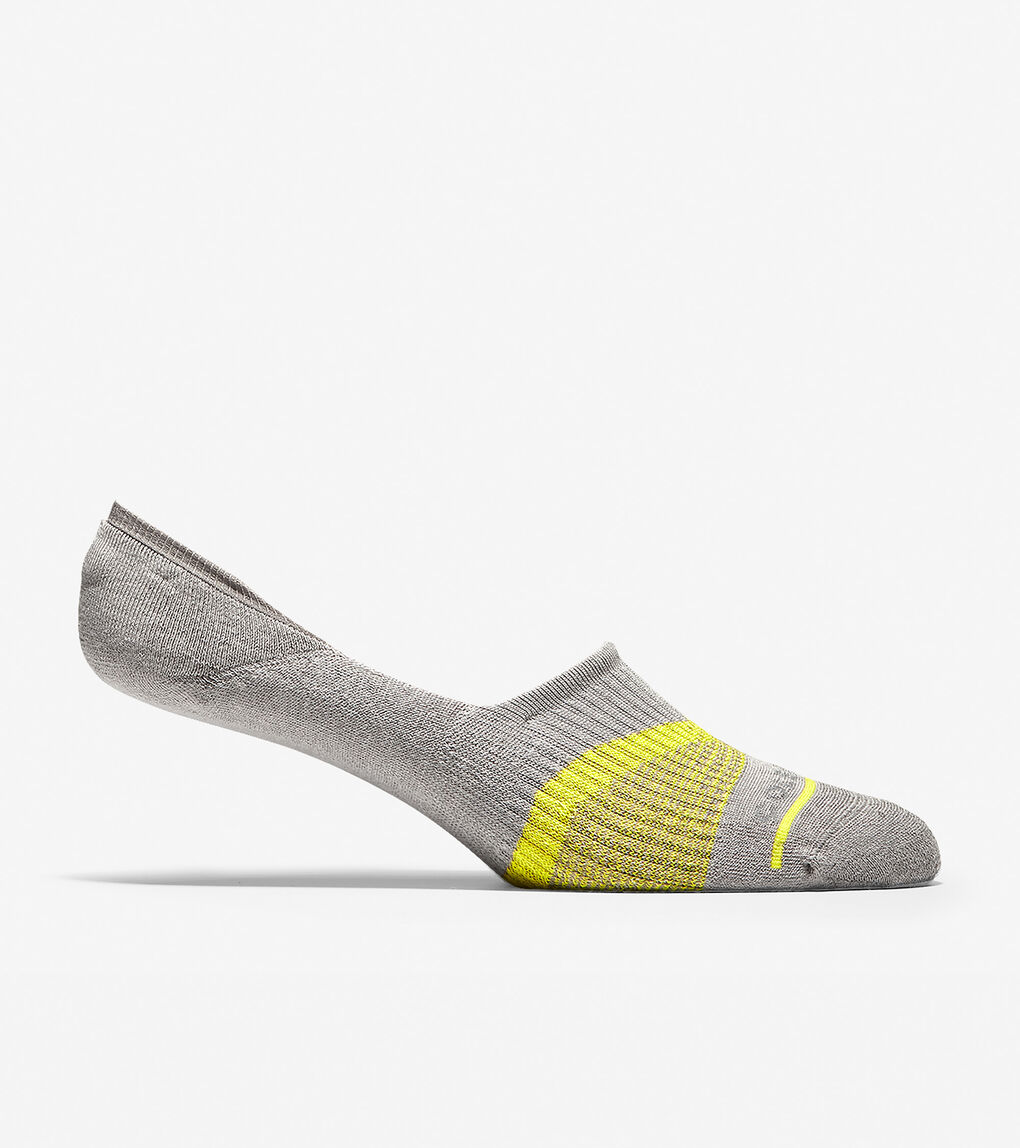 Mens Men's ZERØGRAND V-Stripe No-Show Sock Liners