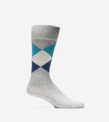 Large Diamond Crew Socks