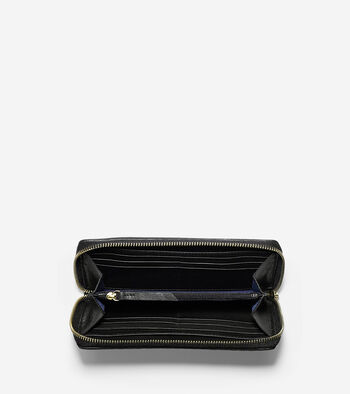 Bethany Weave Large Continental Wallet