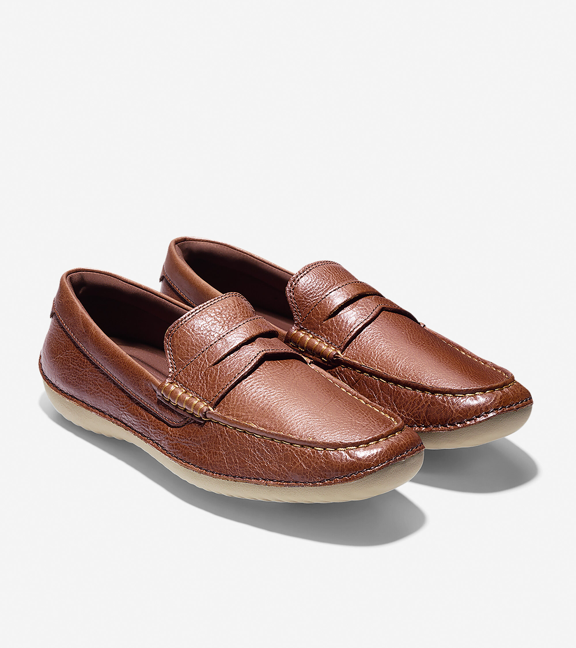 Penny Driving Shoe in Woodbury Leather