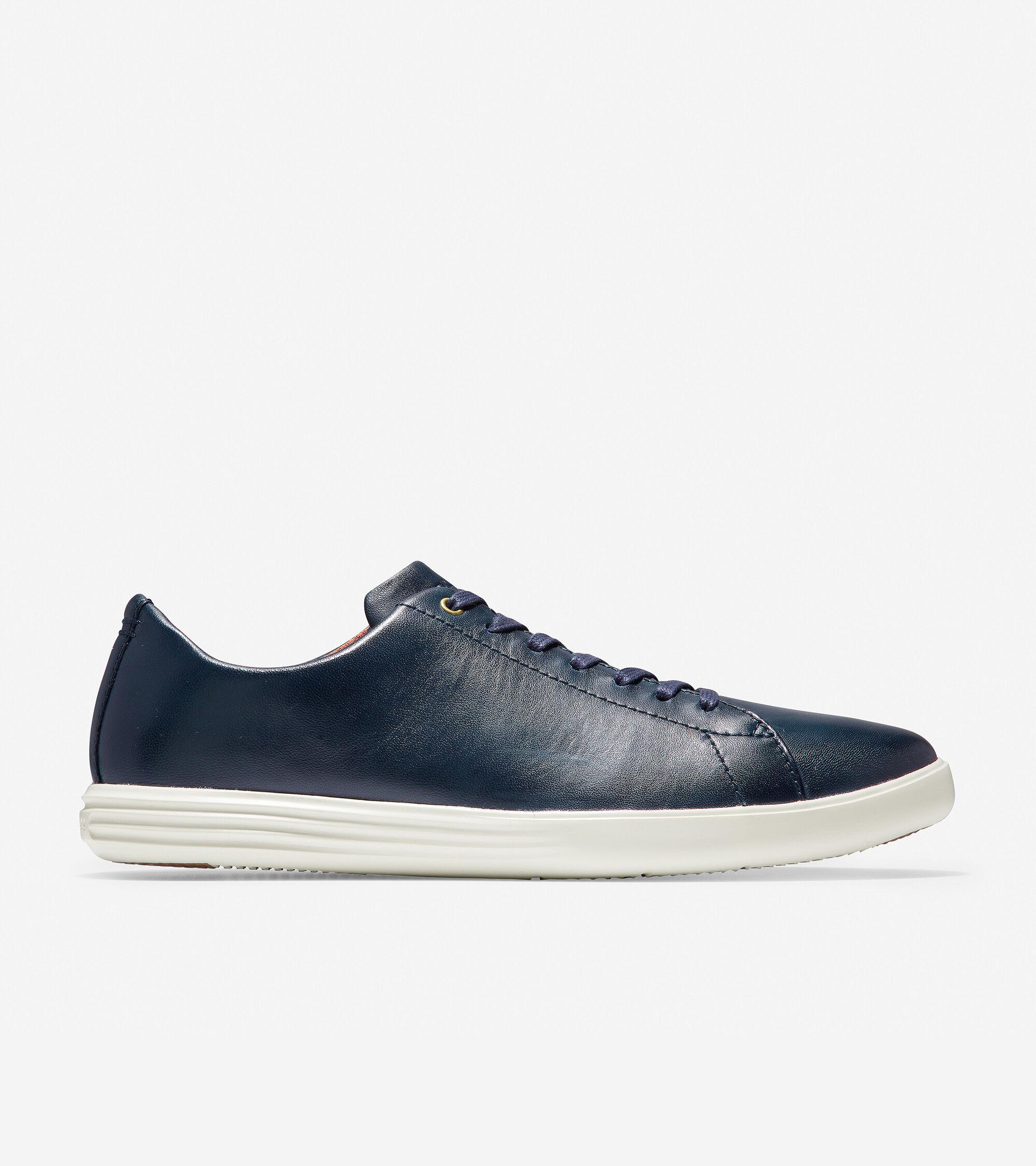 Men's Grand Crosscourt Sneaker in Navy