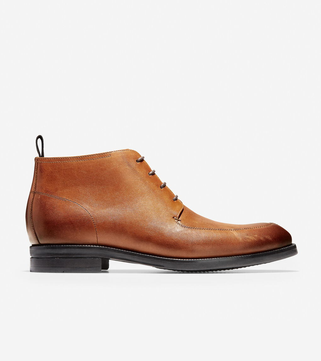 89b1217303 Men's Wagner Grand Apron Chukka Boot in Mesquite Leather   Cole Haan US