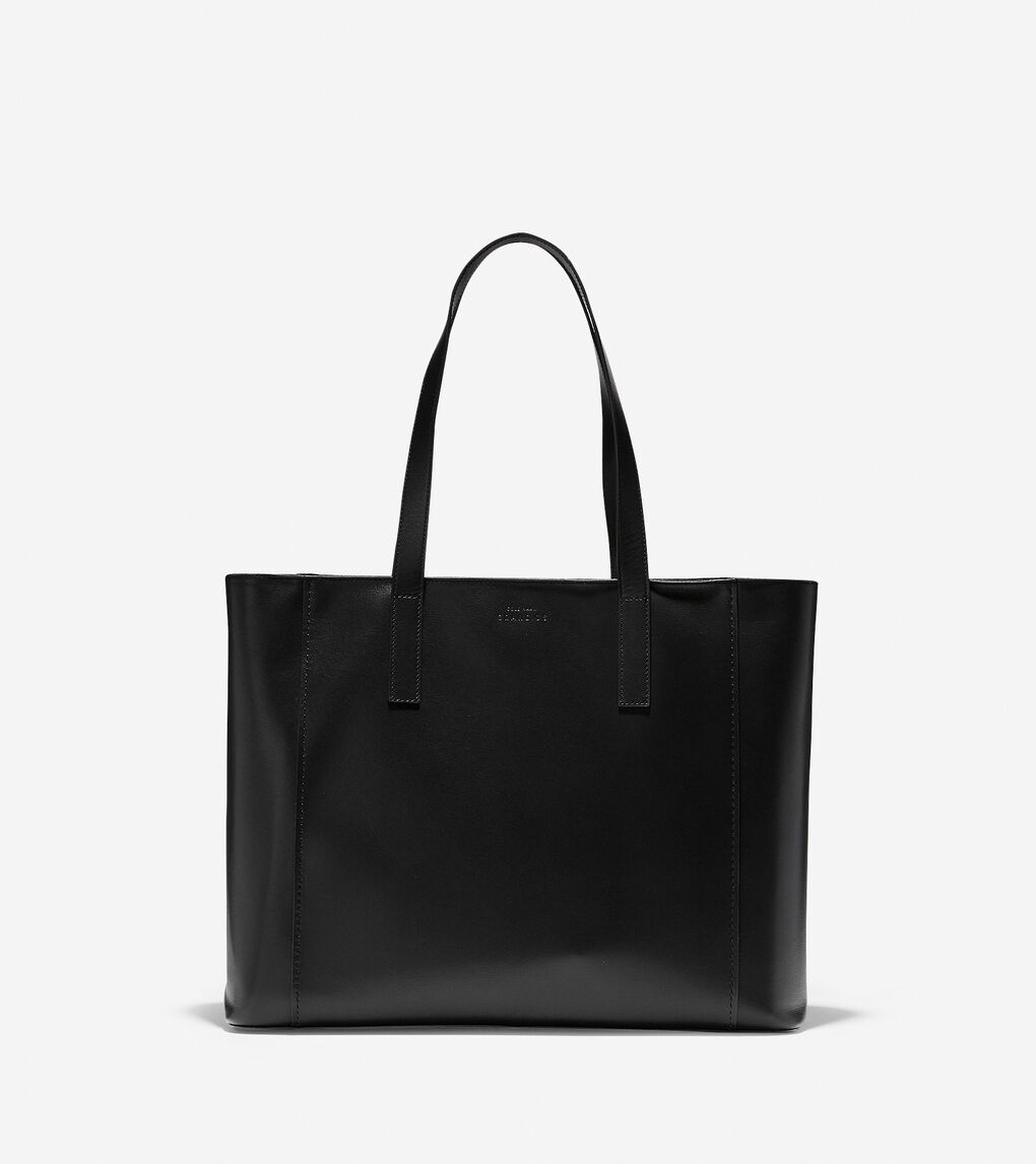 Womens Grand.ØS Leather East-West Tote