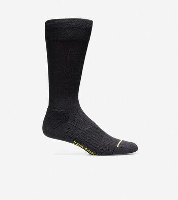Men's ZERØGRAND Rib Crew Socks