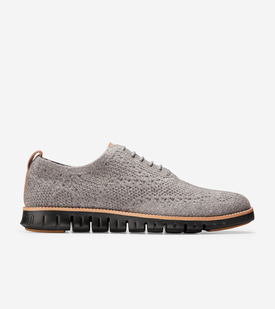 9583bd7b202 Men s ZEROGRAND Oxfords with Stitchlite™ Wool in Ironstone