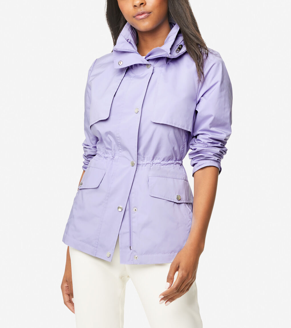 WOMENS Short Packable Rain Jacket